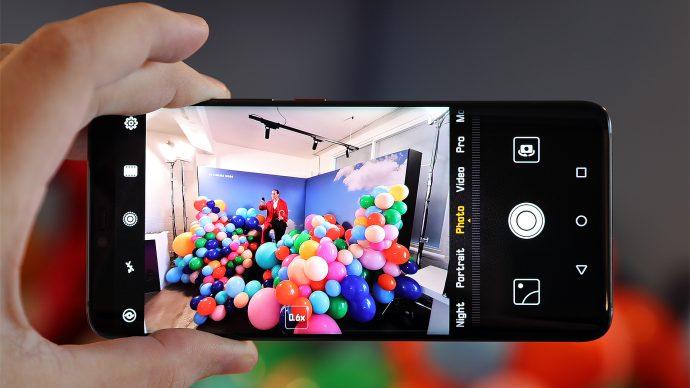 Huawei Mate 20 Pro Kamera Ultra-Weitwinkel