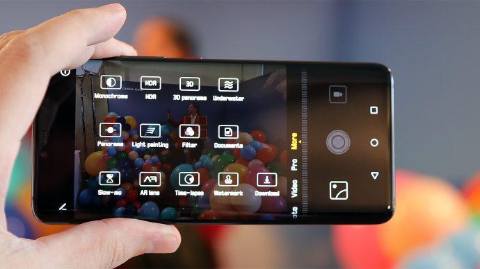 Huawei Mate 20 Pro Kamera-Modi