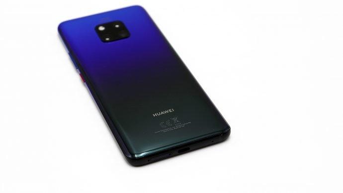 Huawei Mate 20 Pro im Twilight