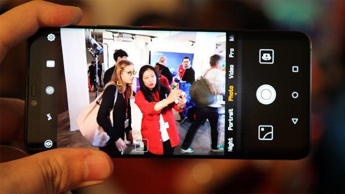 Huawei Mate 20 Pro Kamera-App