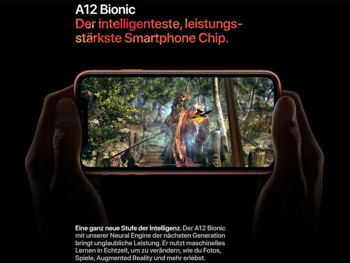 Apple iPhone Xr A12 Bionic