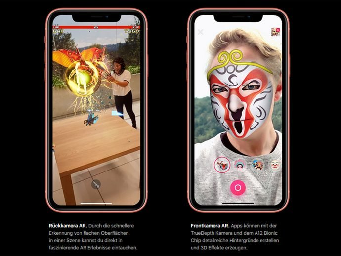 Apple iPhone Xr Augmented Reality