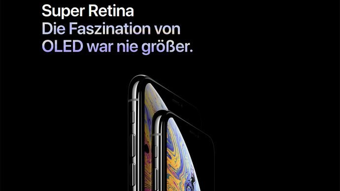 Apple iPhone Xs (Max) Screen