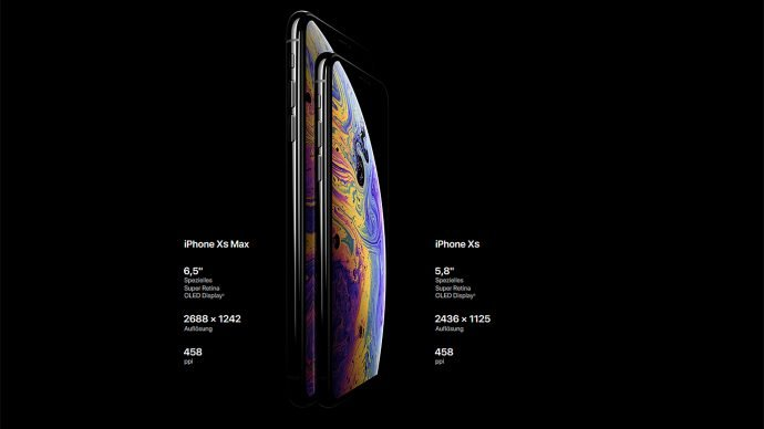 Apple iPhone Xs (Max)