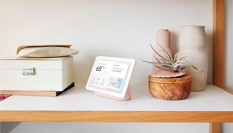 Google Home Hub Startbildschirm