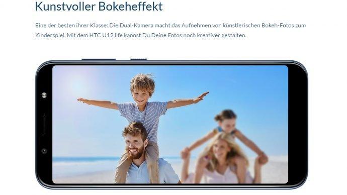 HTC U12 Life Bokeh