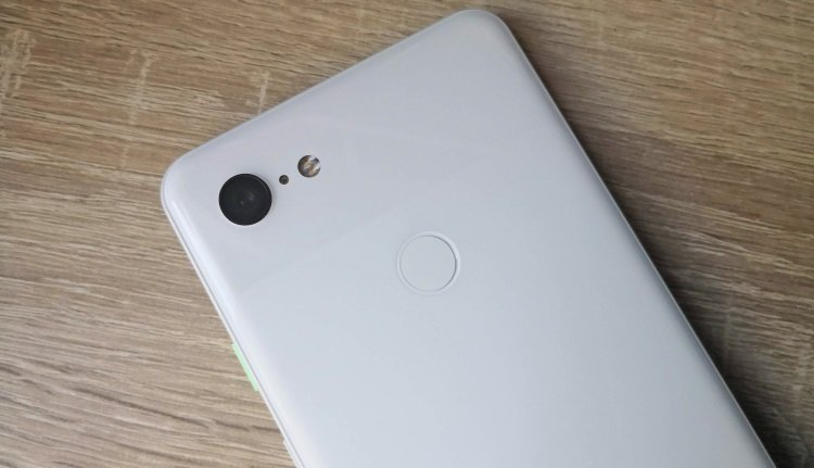 Single-Kamera des Pixel 3 XL