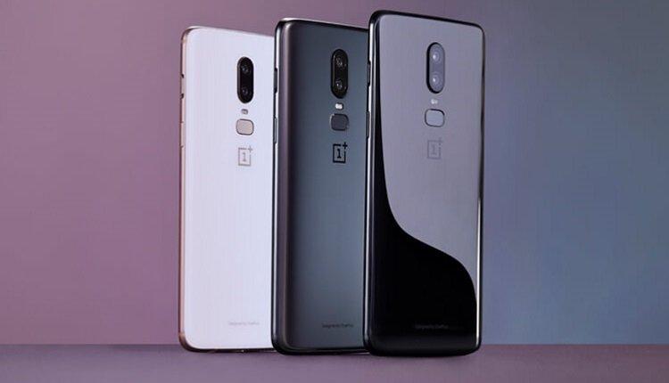 OnePlus 6 in drei Farben