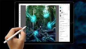 Photoshop CC für iPad Pro