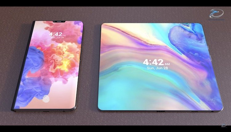 Huawei faltbares Smartphone als Konzept