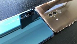 Huawei P20 Pro und Huawei Mate 10 Pro