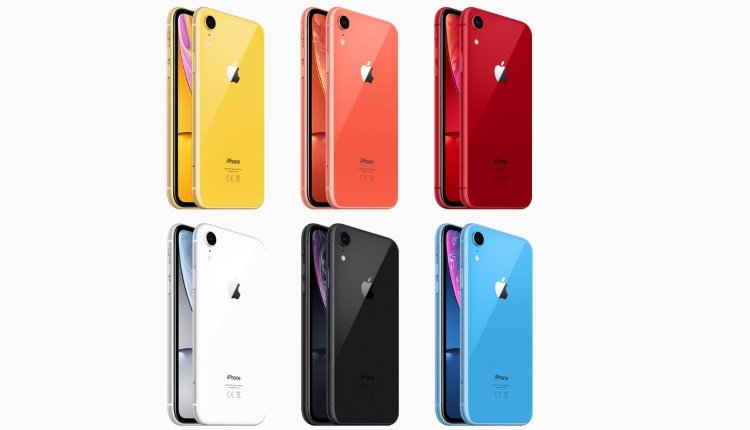 iPhone Xr in bunten Farben