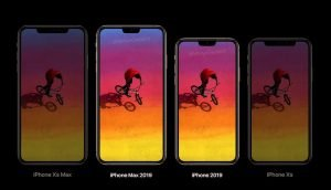 The iPhone 2019 can come with a smaller notch