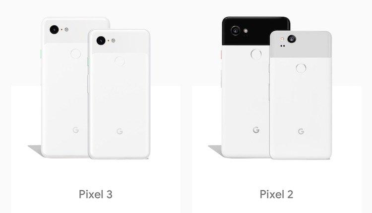 Google Pixel 3 (XL) vs Pixel 2 (XL) Titel