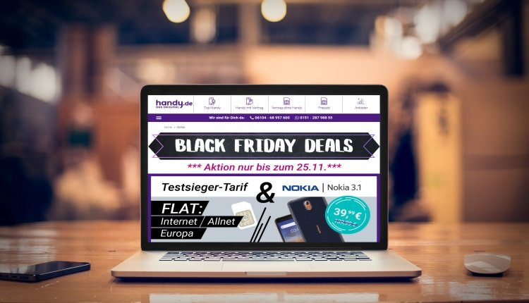 handy.de Black Friday-Deals