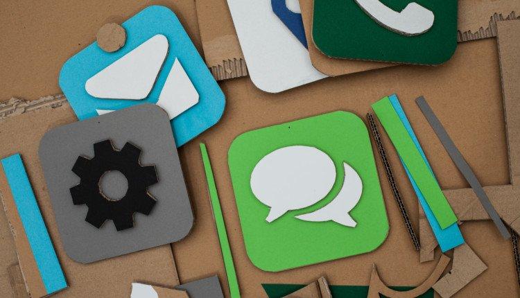 Pappe-Apps Symbolbild