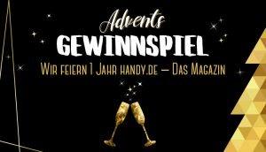 Das Gewinnspiel im Advent zum Jubiläum von handy.de
