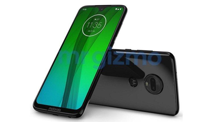 Pressebild des Motorola Moto G7