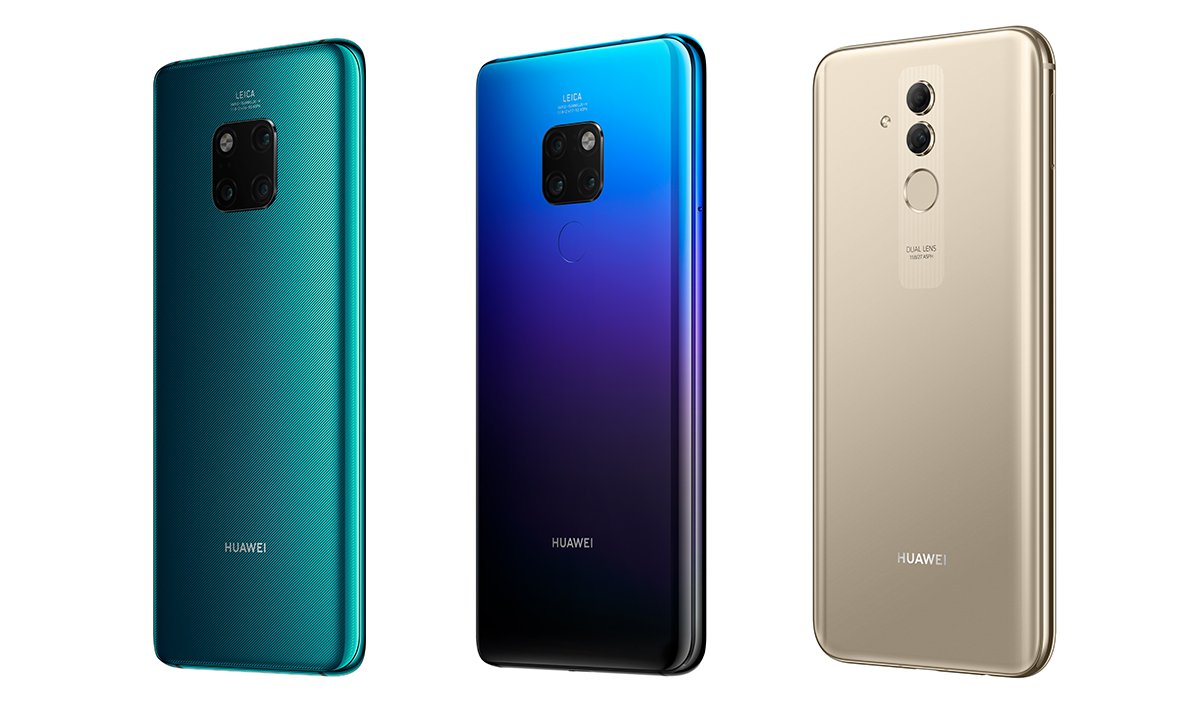 gro er vergleich huawei mate 20 vs mate 20 pro vs mate. Black Bedroom Furniture Sets. Home Design Ideas