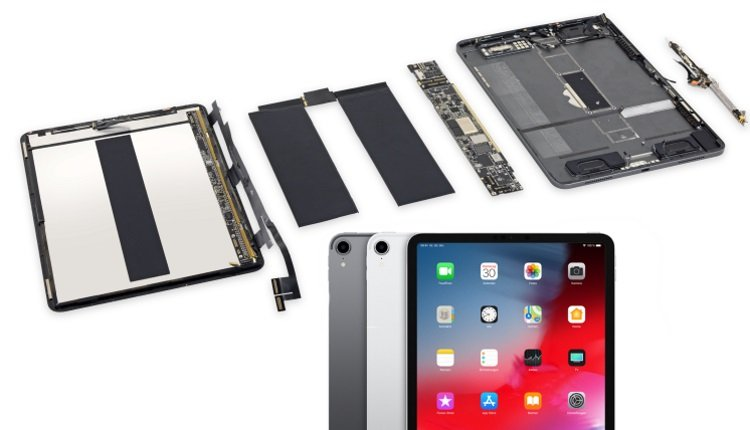 iPad Pro 2018 Teardown.