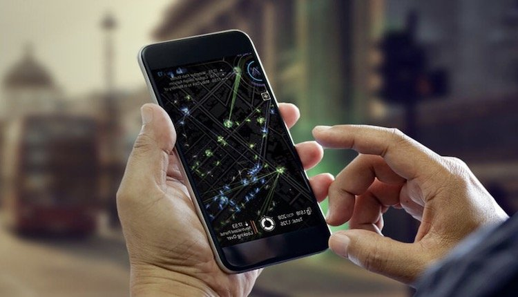Ingress Prime auf dem Phone