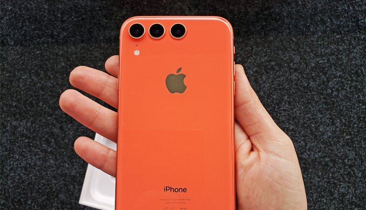 Apple iPhone 2019 Fotomontage: So könnt edas neue iPhone mit Triple-Kamera aussehen