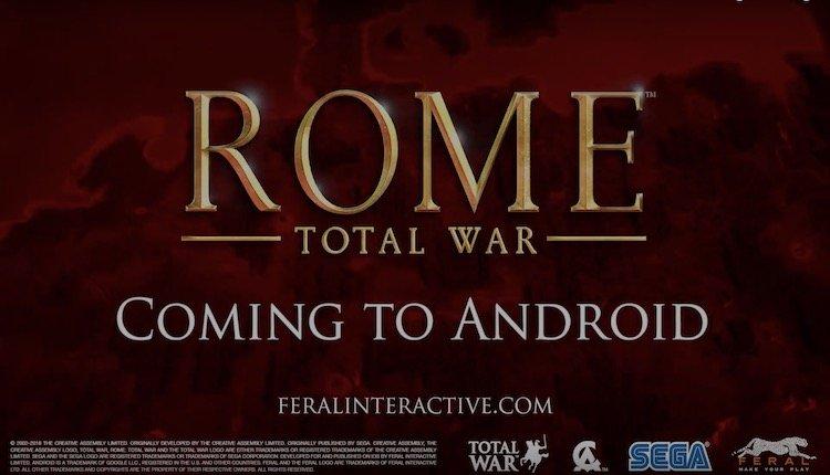 Rome: Total War kommt für Android