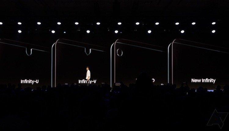 Unterschiedliche Infinity Display Versionen