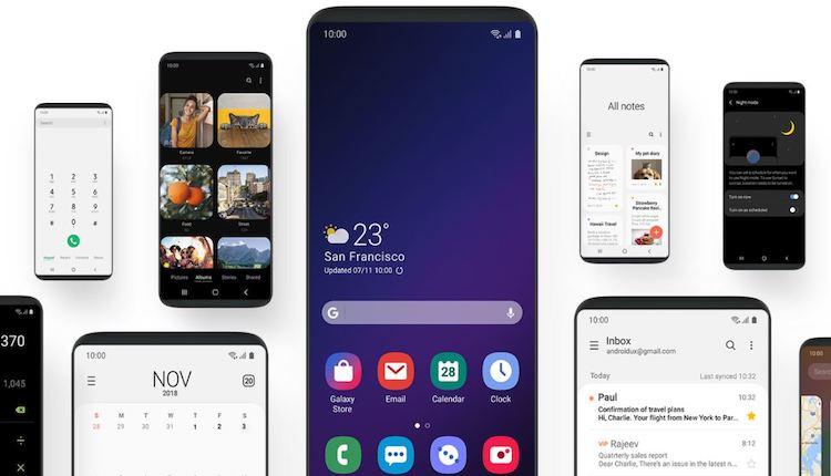 Samsung One UI für Galaxy Geräte