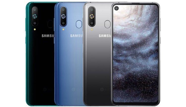 Das Samsung Galaxy A8s