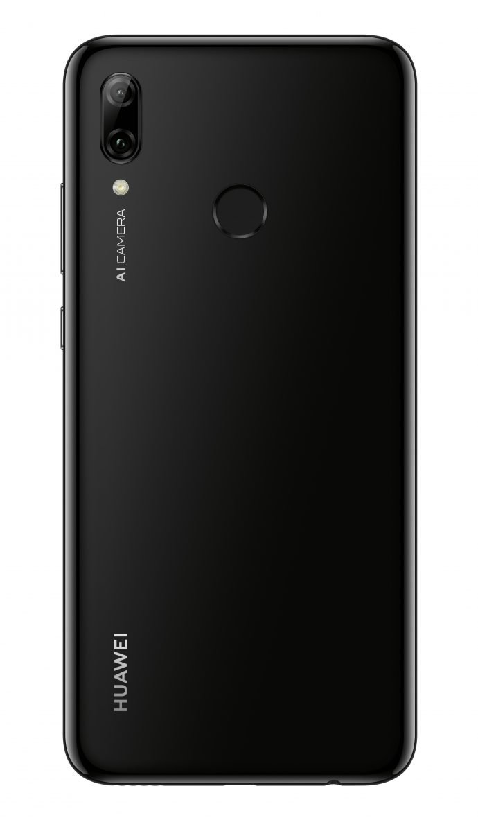 Das neue Huawei P smart 2019 in Midnight Black