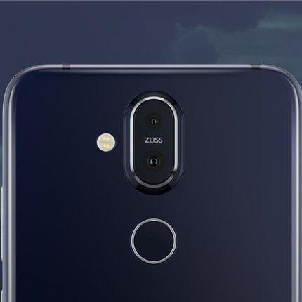 Nokia 8.1 Rückansicht mit Kamera von Carl Zeiss