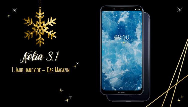 handy.de Gewinnspiel: Nokia 8.1