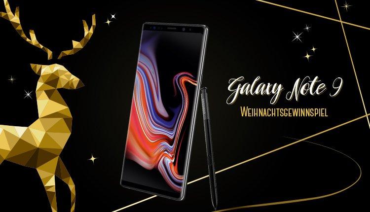 handy.de Weihnachtsgewinnspiel: Samsung Galaxy Note 9