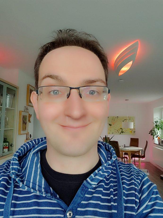 LG V40 Selfie Testfoto