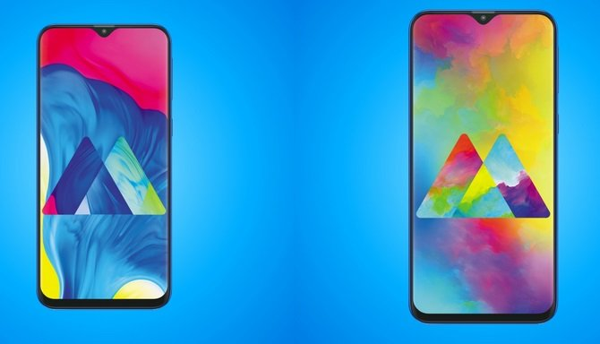 Das Samsung Galaxy M10 und M20