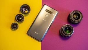LG V40 ThinQ Objektive Test