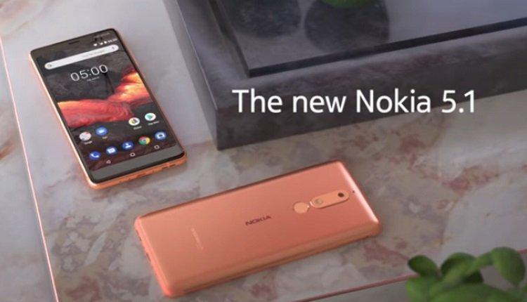 Nokia 5.1 in Kupfer
