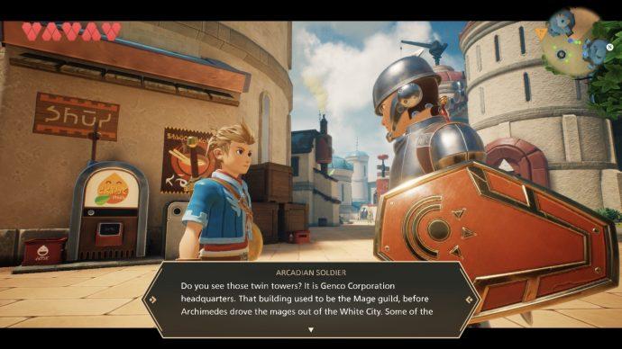 Gespräche in Oceanhorn 2