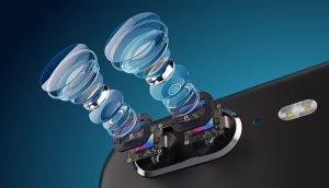 Smartphones mit optischem Zoom in Dual-Kameras