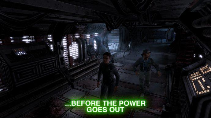 Alien: Blackout - Crewmitglieder werden angegeriffen.