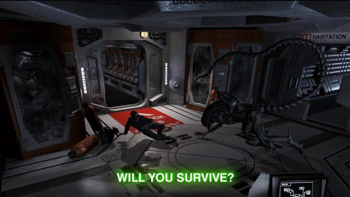 Alien: Blackout zeigt den Angriff des Xenomorphs.