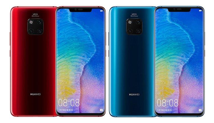 Das Huawei Mate 20 Pro kommt in zwei neuen Farben