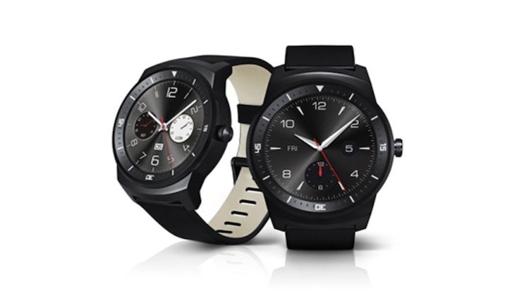 LG G Watch R in Schwarz