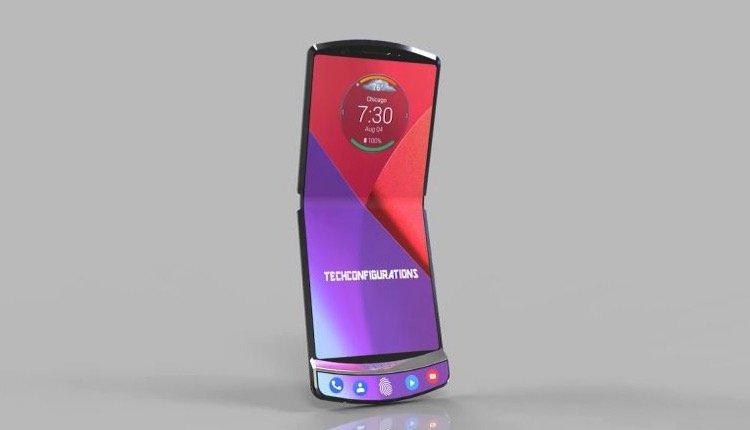 Motorola RAZR V4 als Konzept auf Basis von Patenten
