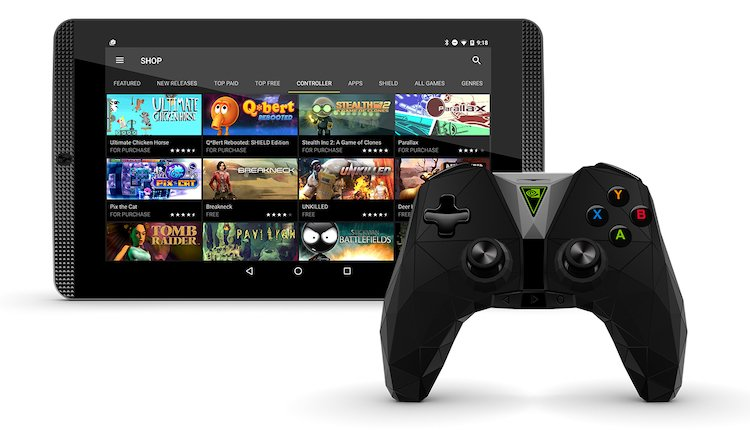 Nvidia Shield Tablet K1 mit Controller