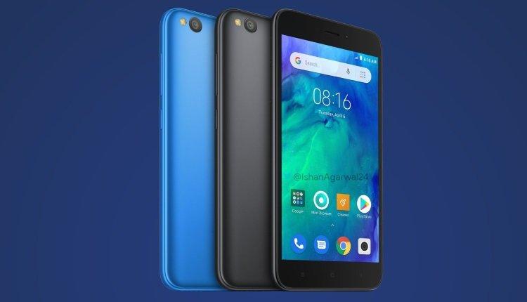 Xiaomi Redmi Go in Blau und Schwarz