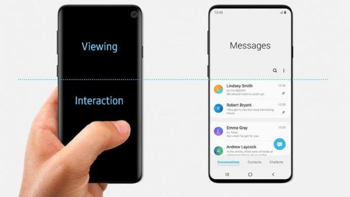 Galaxy S10: Samsung leakt Design aus Versehen
