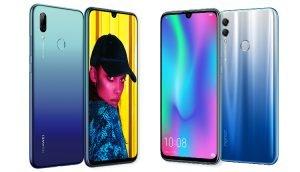 Huawei P Smart 2019 und Honor 10 Lite im Vergleich