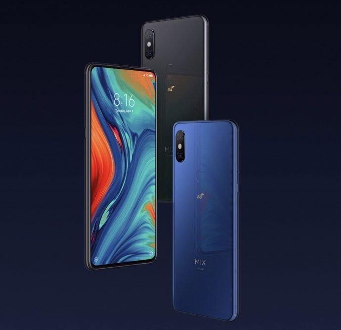 Xiaomi Mi Mix 3 5G Design und Farben
